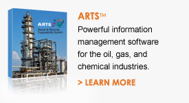 Click to learn more about ARTS - powerful information management software for the oil, gas, and chemical industries